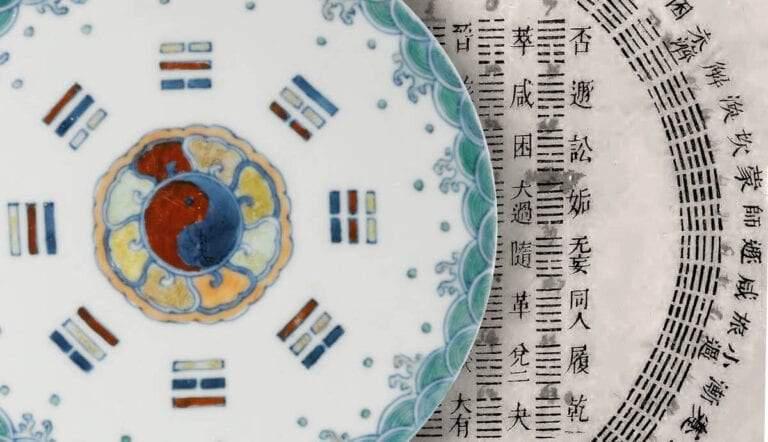 i ching plate trigrams yongsheng hexagrams chart