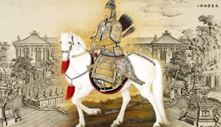 imperial china emperor qianlong palace yuanmingyuan chinese empire