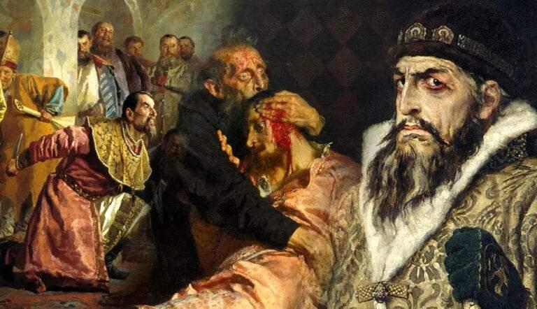 oprichniki tsar ivan the terrible vastnetsov paintings