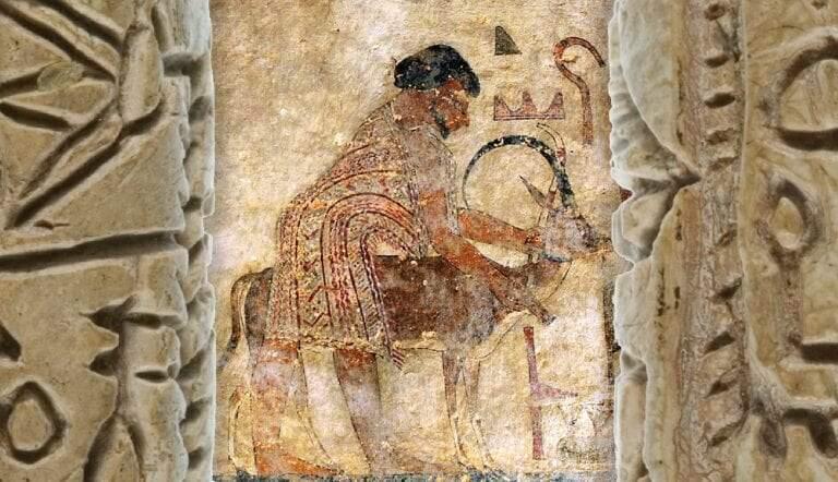 second intermediate period egypt hyksos tomb khnumhotep ii