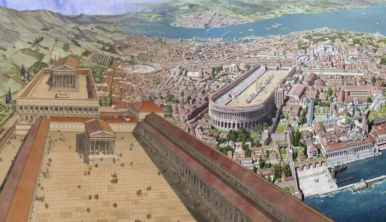 5 ancient roman cities roman empire