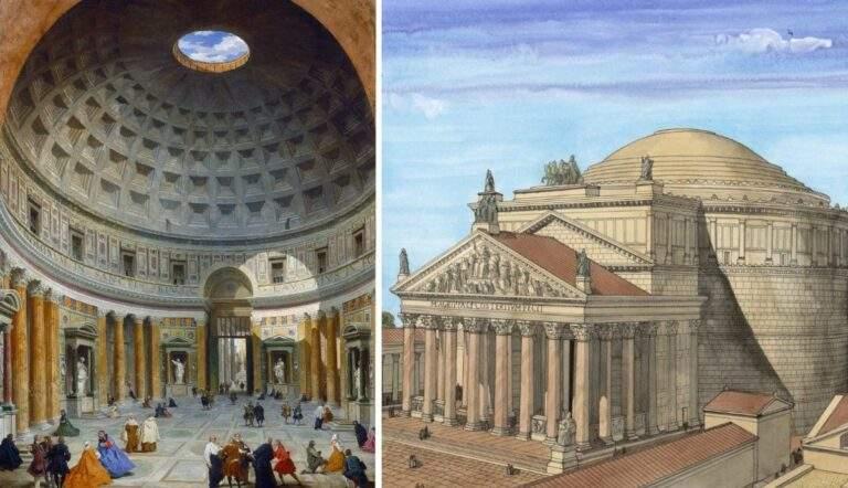 agrippa pantheon