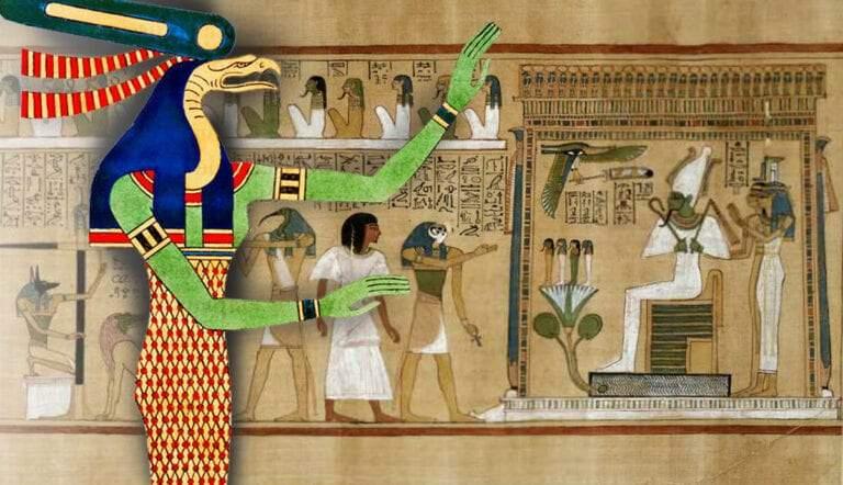 egyptian book of the dead wadjet deities