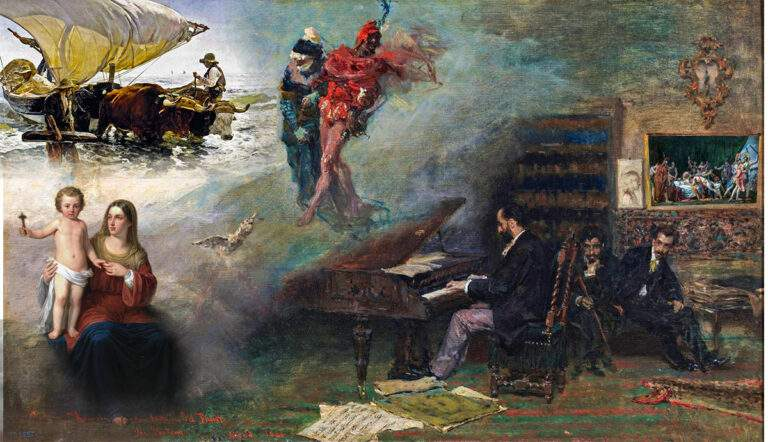 19th century paintings by famous spanish painters