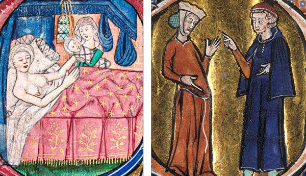 5 birth control methods medieval period