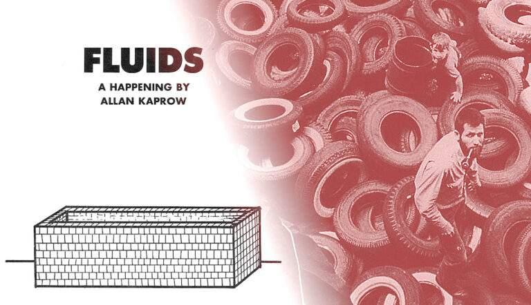 allan kaprow fluids art happenings