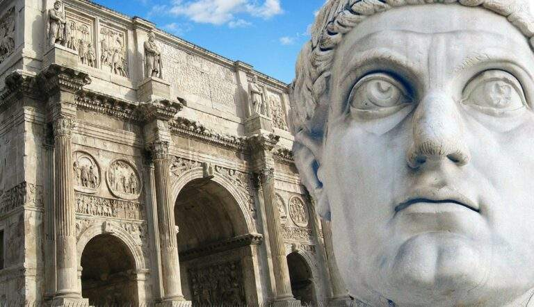 arch of constantine the great colossus