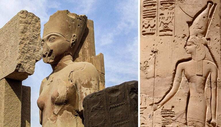 egyptian goddess amunet mother father