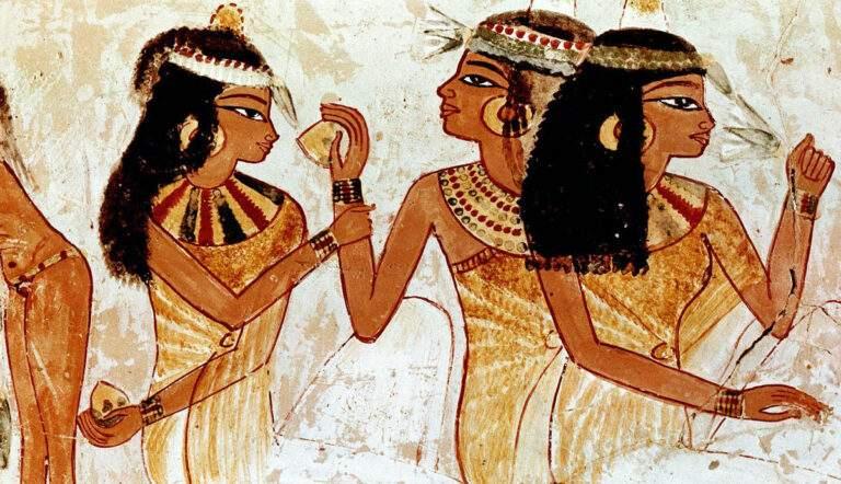 Scene from daily life, Tomb of Nakht, Luxor, TT52