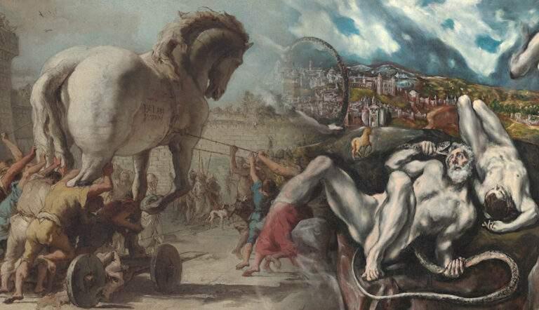 laocoon el greco trojan horse troy