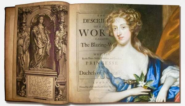 margaret cavendish portrait blazing world book