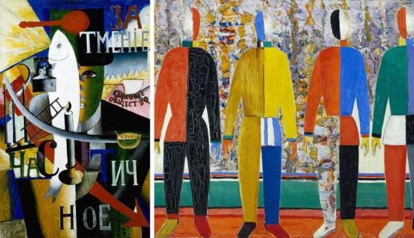 paintings by kazimir malevich suprematist avant garde