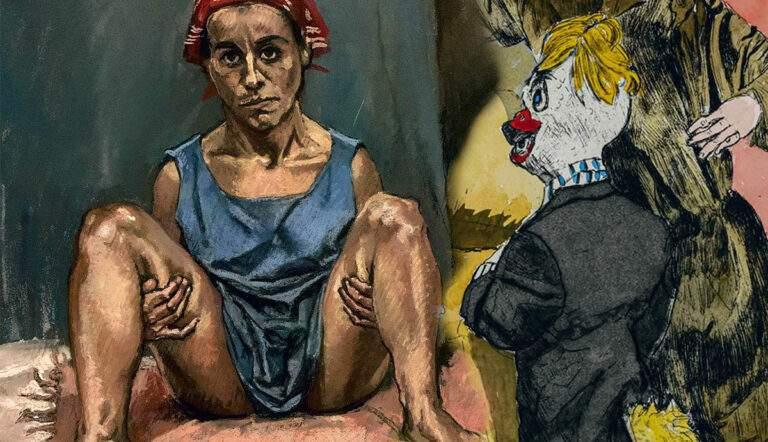 paula rego abortion goat girl contemporary art