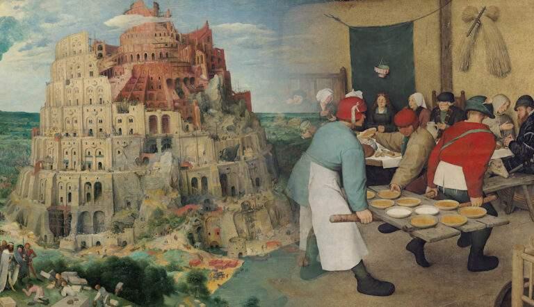 pieter bruegel tower babel peasant wedding