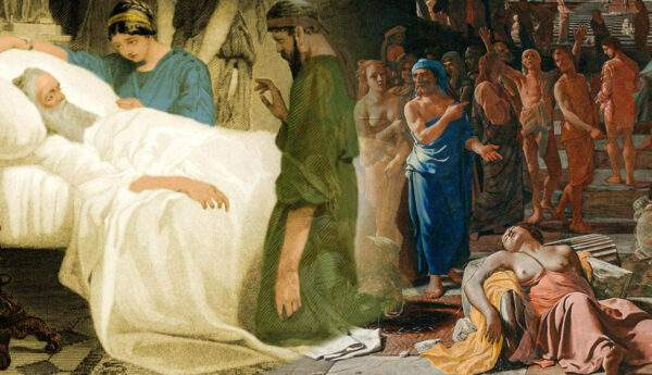 plague in antiquity death of pericles paintings