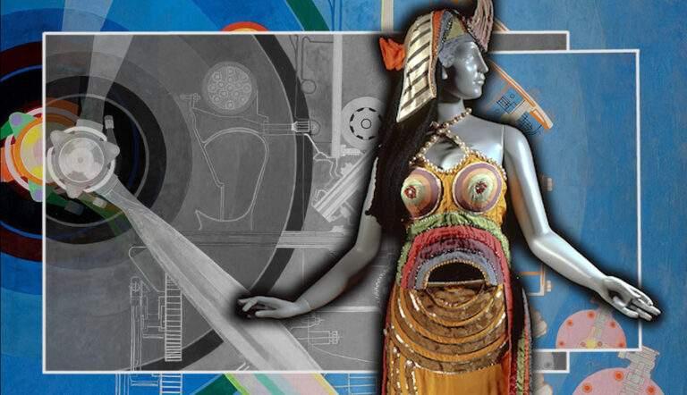 sonia delaunay propeller pavilion cleopatra costume
