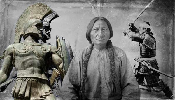 spartan king leonidas samurai armour sitting bull sioux