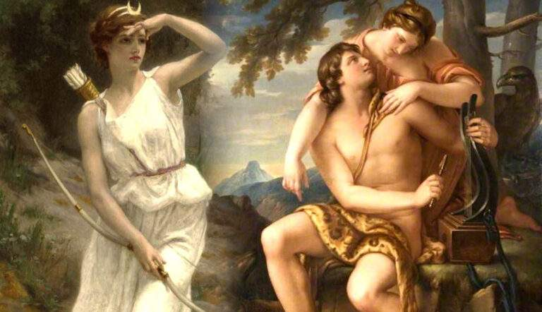 greek goddess artemis vegeful virgin huntress