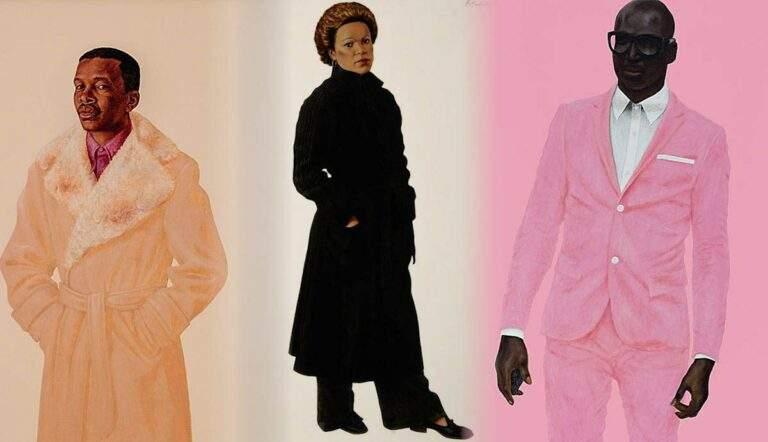 Barkley Hendricks artist fashion portraits