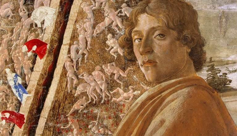 Sandro Botticelli portrait seducers adulterers