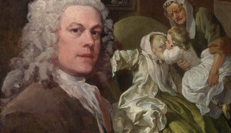 William Hogarth portrait suicide countess