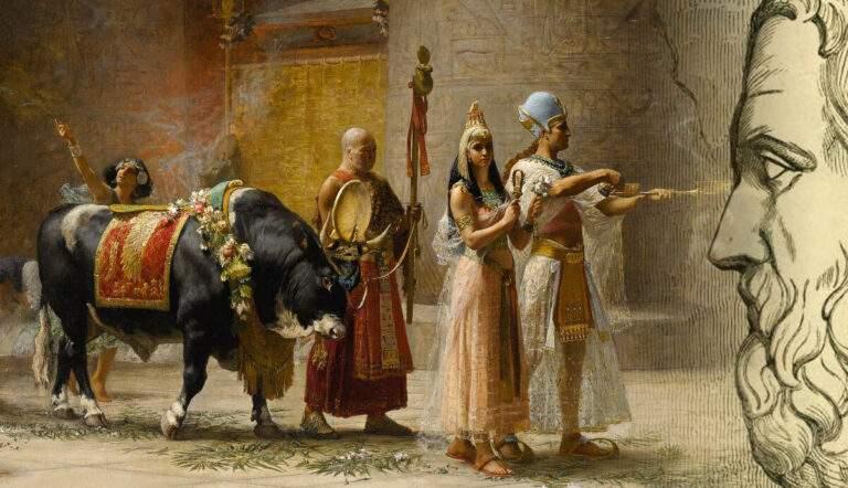 ancient egyptian customs herodotus histories