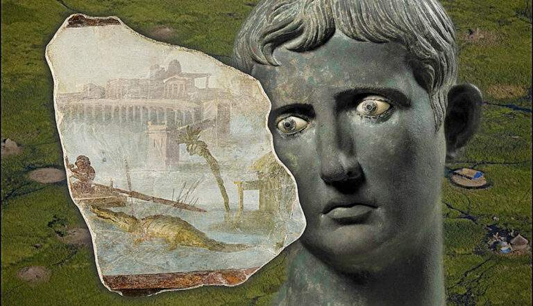 ancient rome search source of the nile