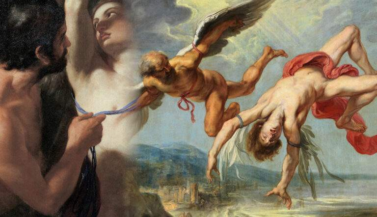 daedalus icarus myth paintings