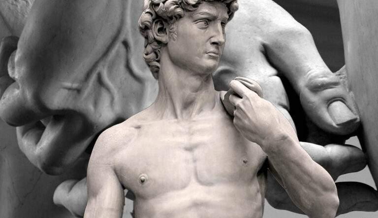 david sculpture by michelangelo details
