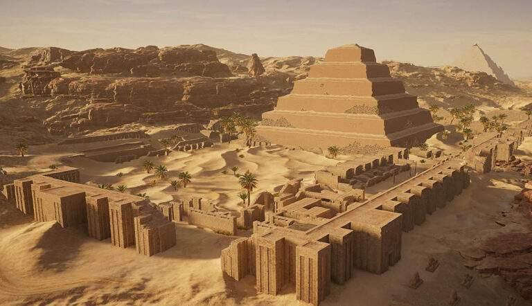 egyptian step pyramid djoser