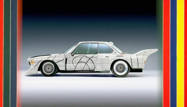 frank stella bmw art car hyena stomp