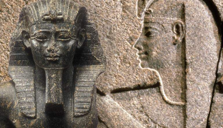 late period egypt saite king nectanebo ii