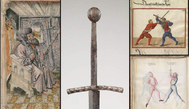 medieval longsword fencing