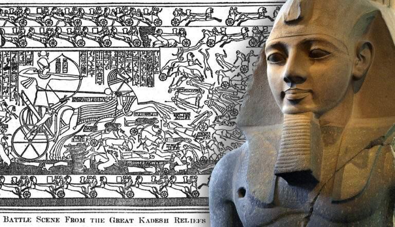 ramesses ii battle kadesh relief