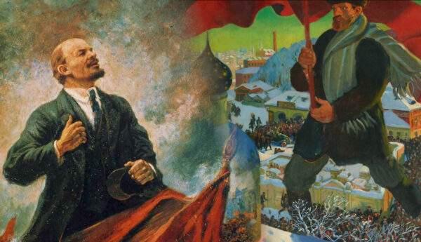 russian revolution art