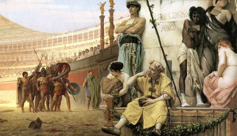 slavery market in ancient rome