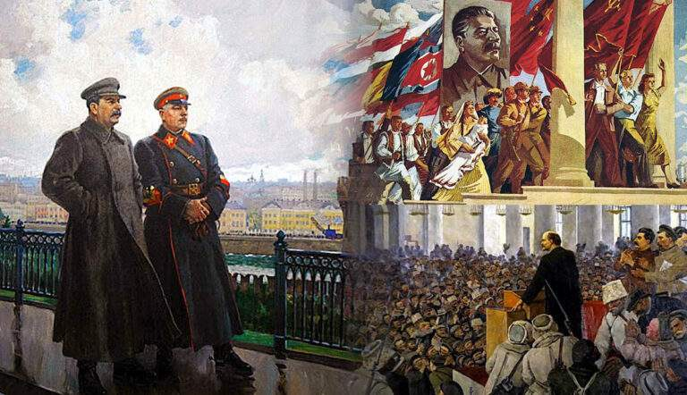 socialist realism stalin control art soviet union