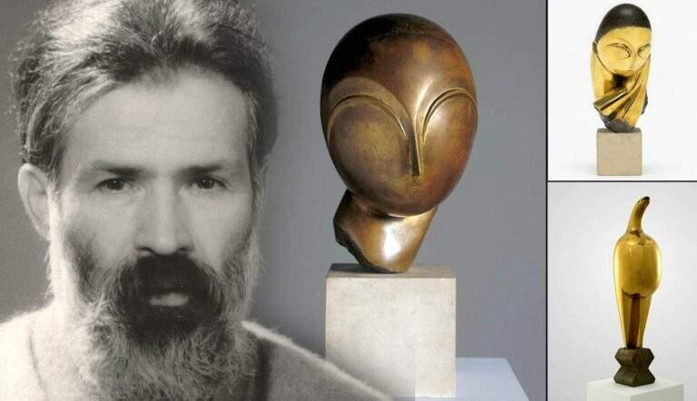 Constantin Brancusi modern sculptures