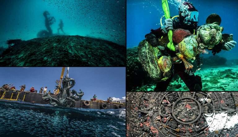 Damien Hirst faked shipwreck