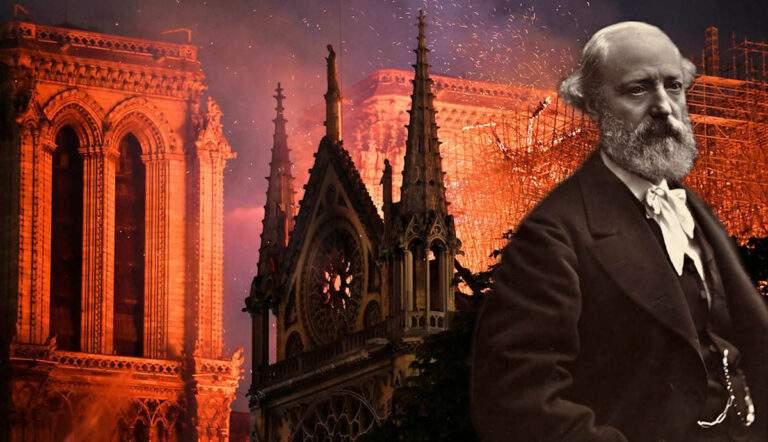 Eugene Viollet le duc notre dame paris architect