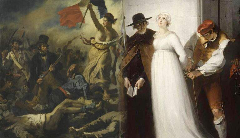 French Revolution iconic paintings