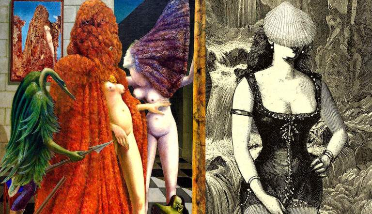 Max Ernst surrealist painting artwork