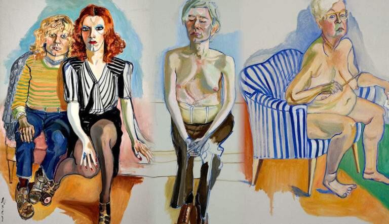 alice neel contemporary paintings