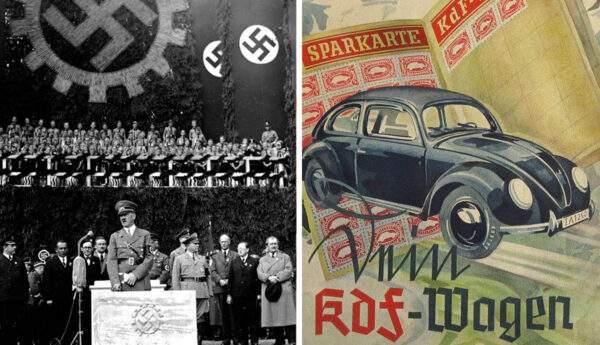 kdf wagen propaganda nazi germany