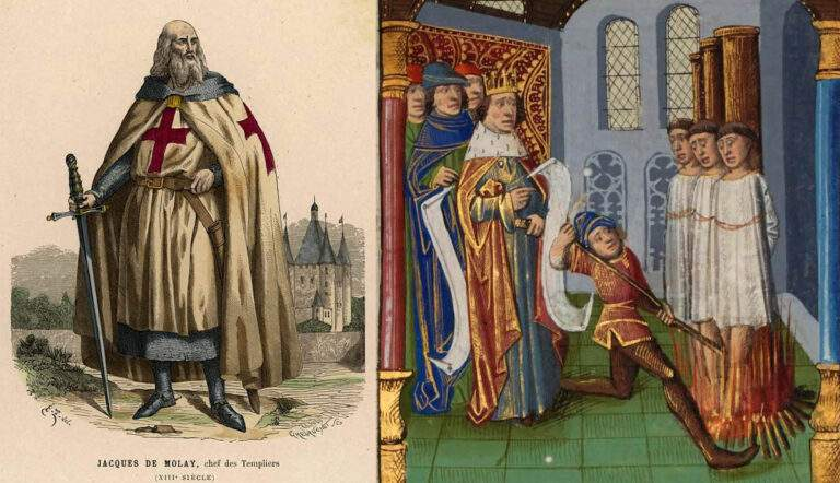 knights templar execution Jacques de Molay