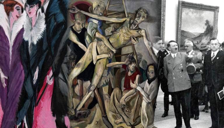 nazi against modern art