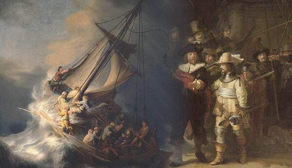 rembrandt baroque painting