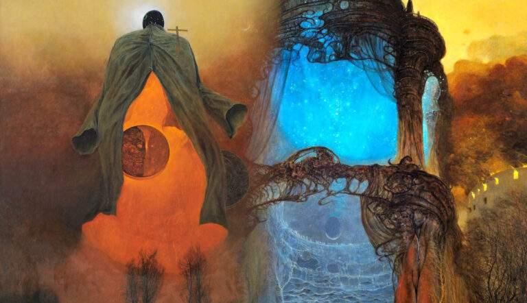 zdzislaw beksinski paintings surrealist artworks