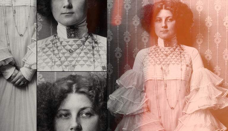 Gustav Klimt Muse emilie floge