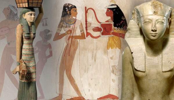 egyptian pre ptolemaic women hatshepsut